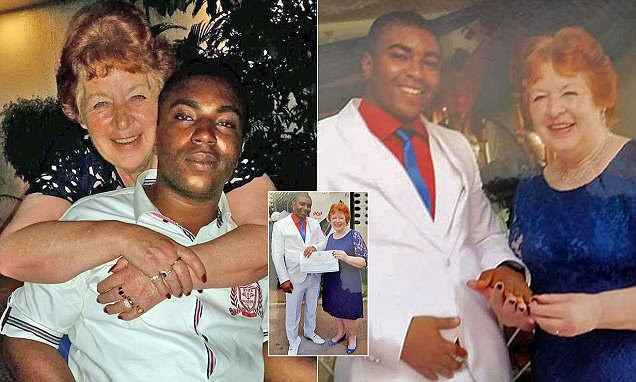 Grandmother found love with Nigerian man 45 years younger