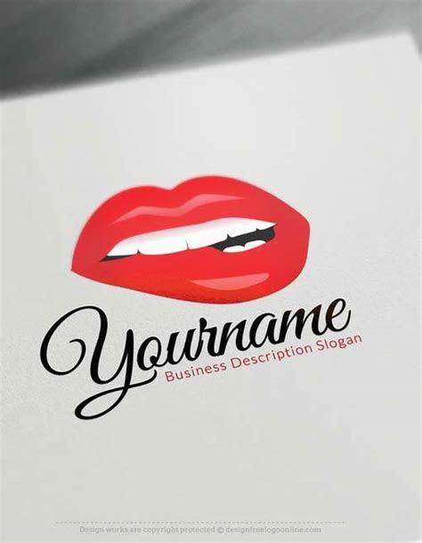 create   sexy lips logo   makeup logo maker