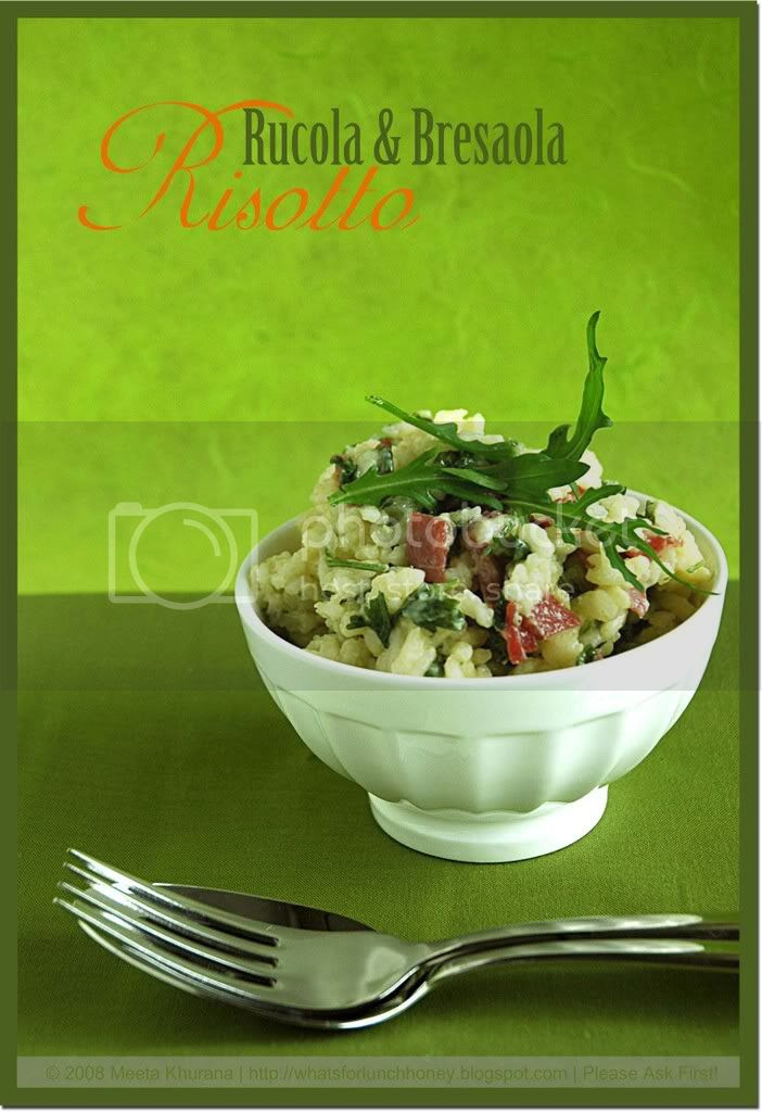 Rucola Bresaola Risotto (01) by MeetaK