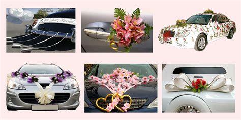 Unique, Affordable, Attractive Wedding Car Decoration