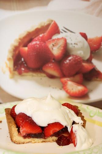 La Palette's Strawberry Tart