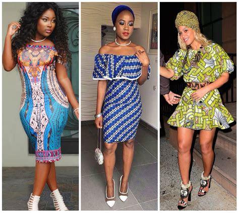 amazing ankara short gown styles  ladies