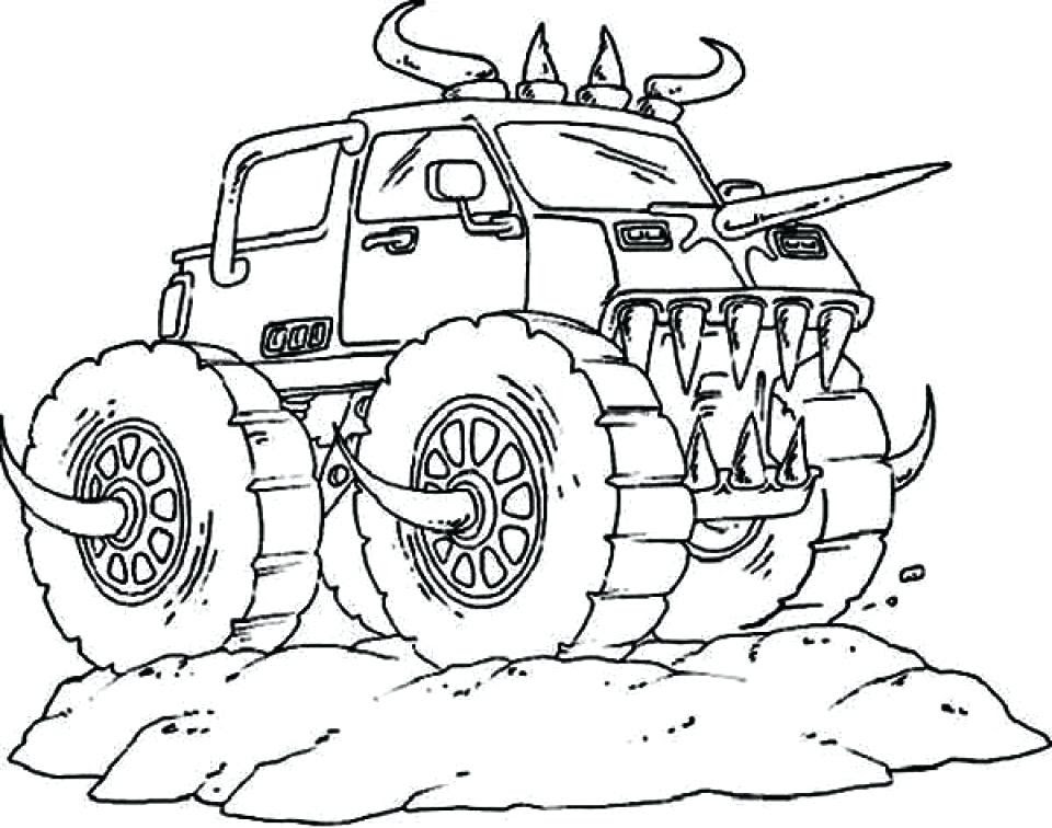 Grave Digger Drawing at GetDrawings   Free download