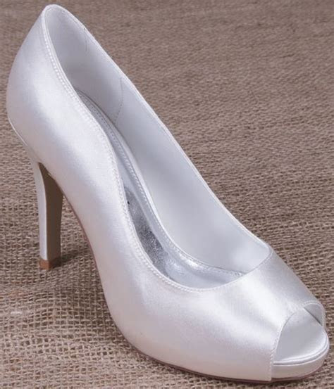 Perfect Bridal Shoes Polly Satin   Dyeable Wedding Shoes