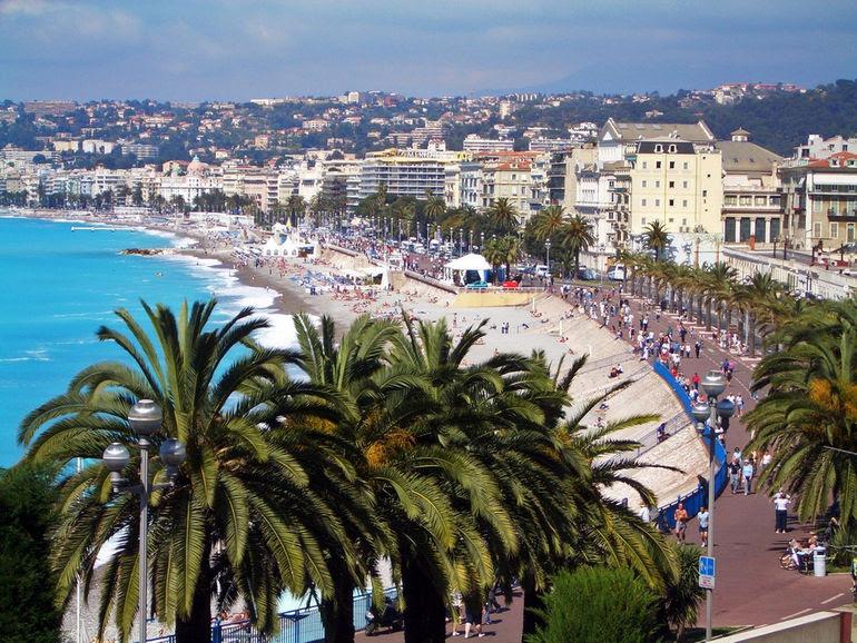 Картинки по запросу Ницца на карте средиземноморья