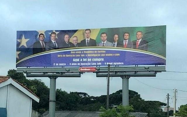 Procurador que bancou outdoor com propaganda enganosa da Lava Jato será demitido