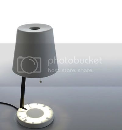 Self product: Lamp Shade Clock