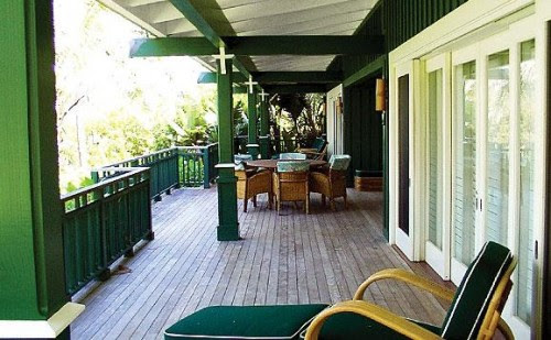 Trigg-Smith Architects - Project - Island Estate Guesthouses tropical patio