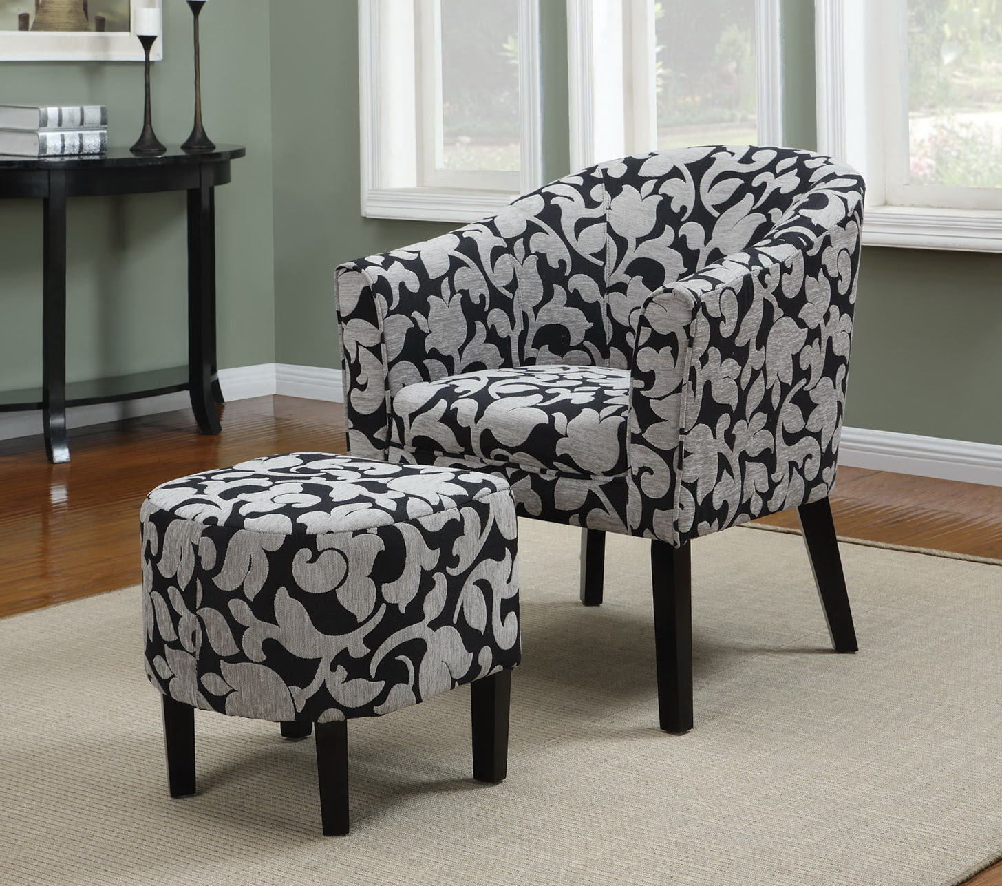 Accent Chairs And Ottomans  Home Design Ideas