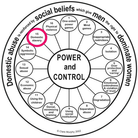 Power & control wheel #15 Clare Murphy PhD
