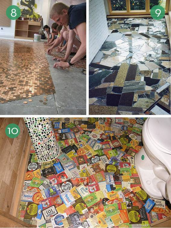10 Easy and Inexpensive DIY Floor Finishes - Kitchen ...