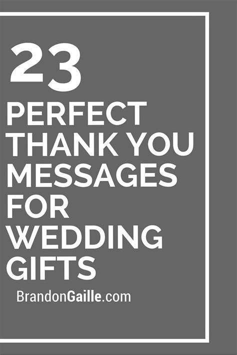 Wedding Quotes : 23 Perfect Thank You Messages for Wedding