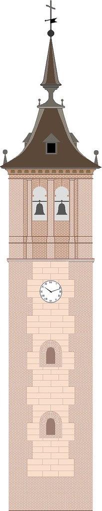 torre de la iglesia de Bargas (Toledo)