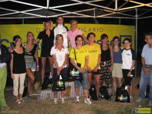 podio femminile
