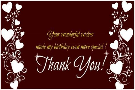 Even More Special! Free Birthday Thank You eCards