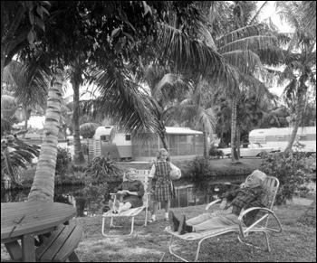 Retirees at the trailer park: Fort Lauderdale, Florida (1963)