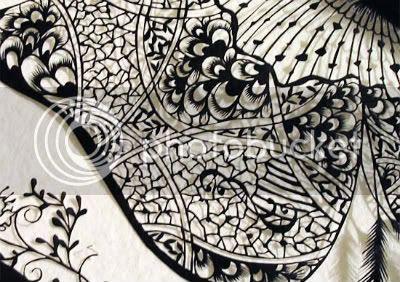 Hina aoyama Lace-cut Creation 1