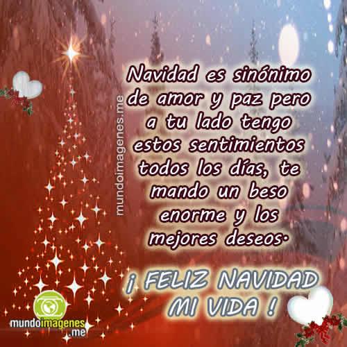 Feliz Navidad Mi Vida Www Imagenesmy Com