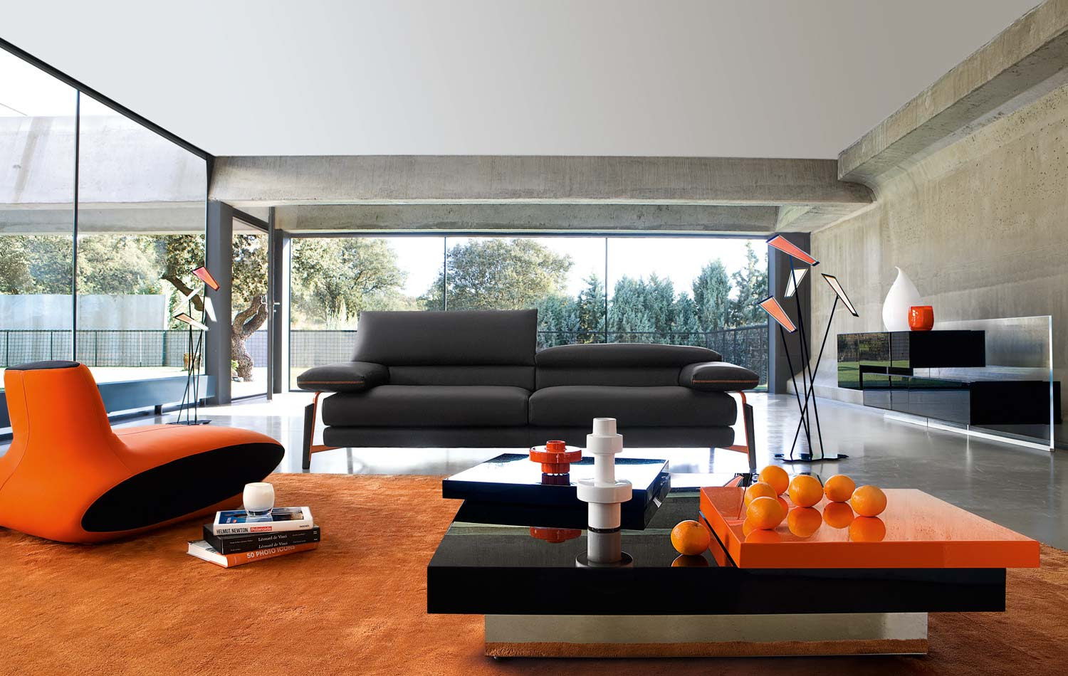 Orange Couches Living Room Nagpurentrepreneurs