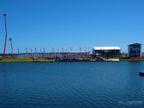 Campeonato da Europa de Canoagem 2013 - Bancadas