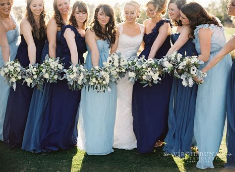 Best 25  Mismatched navy bridesmaids ideas on Pinterest