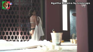 Agatha Moreira sensual na novela A Dona do Pedaço