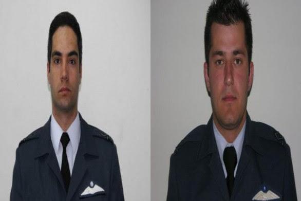 Αυτοί είναι οι δυο πιλότοι που έχασαν τη ζωή τους στο δυστύχημα με το F-16 (pics+video)