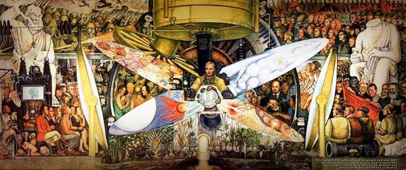En Su Mural Mas Famoso Diego Rivera Plasmo El Socialismo Y El