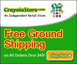 Free Ground Shipping Over $49 at CrayolaStore.com!