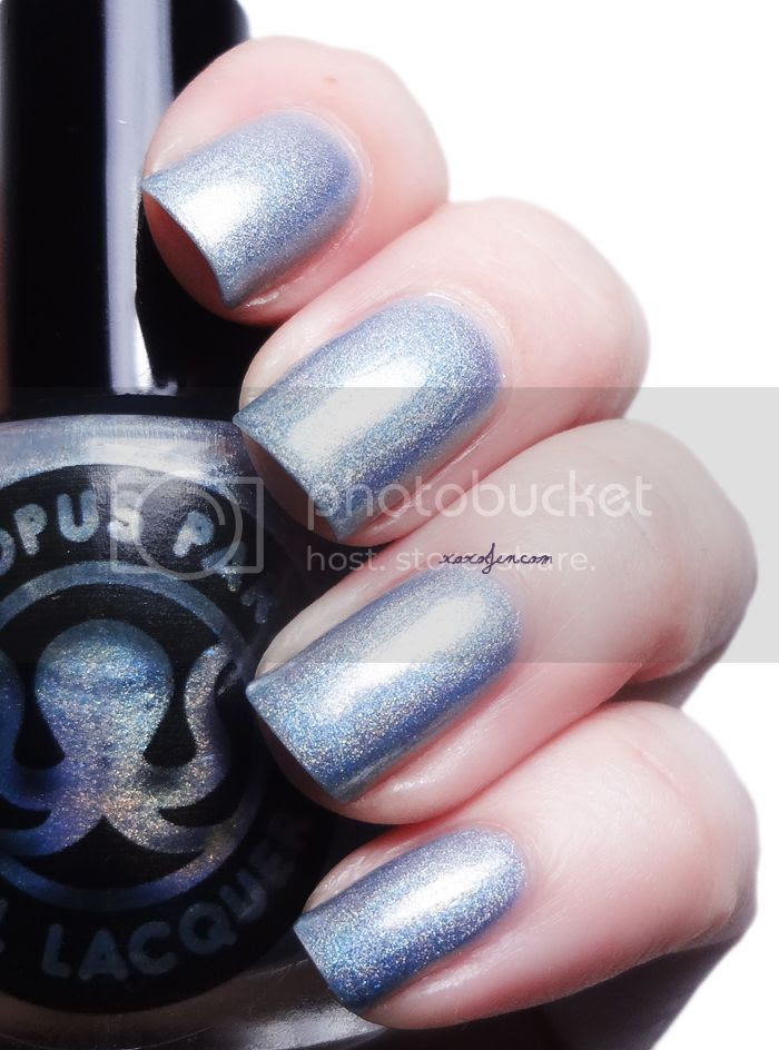 xoxoJen's swatch of Octopus Party Nail Lacquer Mirror of Understanding