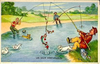 Personnalisé de poisson pêche à Carte D/'Anniversaire-Papa Fils Grand-Père Oncle Frère