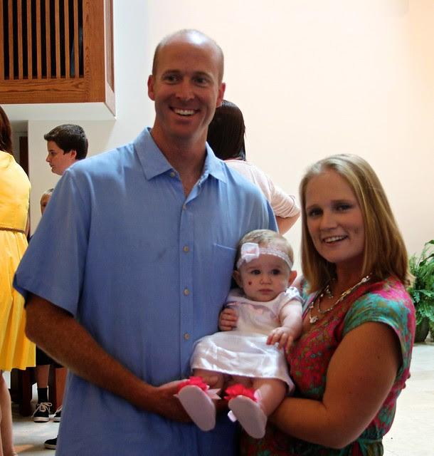 Scarlett's Baptism July 2012 6