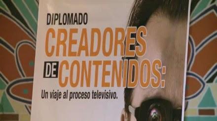 Creadores de contenidos. Un viaje al proceso televisivo, el diplomado de Televisa en la UNAM. Foto: Tomada de YouTube