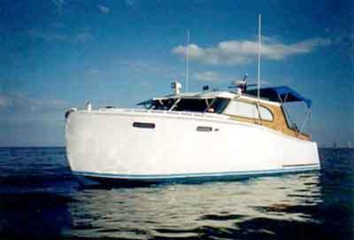 Steelcraft cabin cruiser