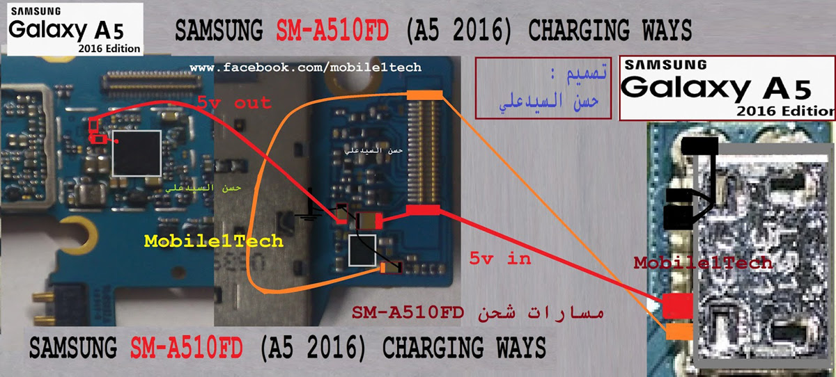 Samsung Galaxy A5 (2016) Charging Solution Jumper Problem Ways Charging Not Supported