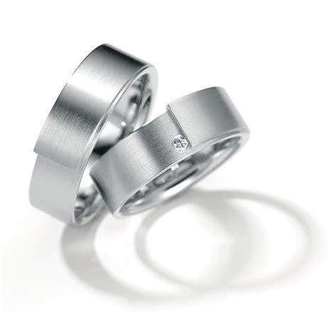 Henrich & Denzel   Palladium Diamond Wedding Rings   ORRO
