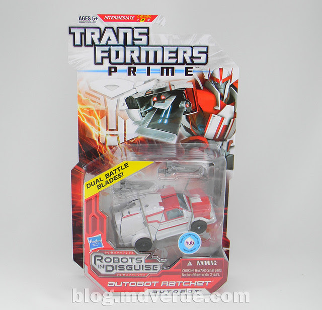 Transformers Ratchet Deluxe - Prime RID - caja