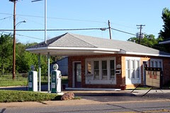 former sinclair station