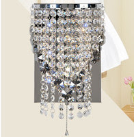 Wholesale Crystal Wall Sconces Fixtures - Buy Cheap Crystal Wall ...