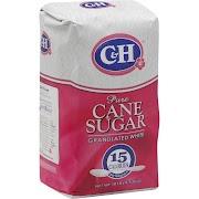 C&H Pure Cane Granulated White Sugar - 10 lb bag