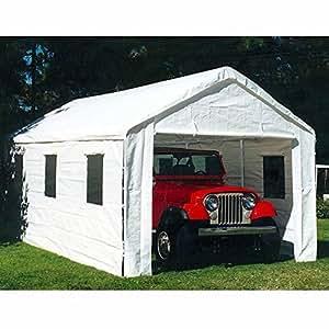 Amazon.com: King Canopy 10 x 20 ft. Universal Enclosed ...