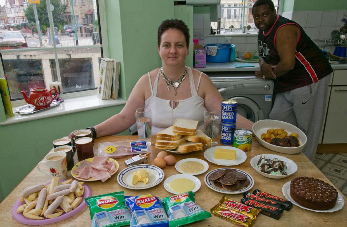 O que as pessoas comum comem nos diferentes países do mundo? 05