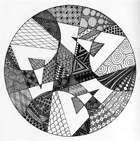geometric zendala  elistax  deviantart