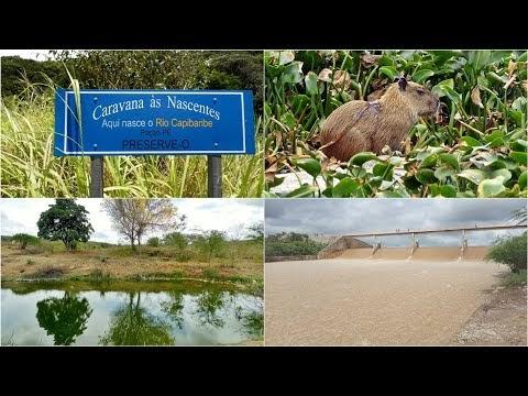 Vídeo mostra imagens exclusivas do Rio Capibaribe, no Agreste de Pernambuco