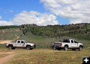 BLM Rangers. Photo by Dawn Ballou, Pinedale Online.