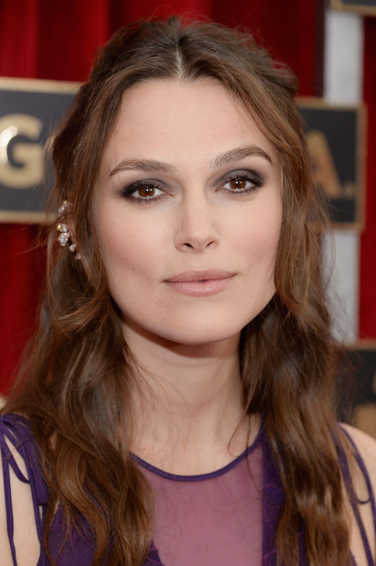 KEIRA KNIGHTLEY at 2015 Screen Actor Guild Awards in Los Angeles