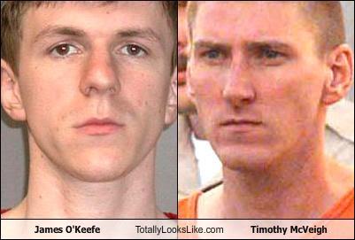 James O'Keefe Totally Looks Like Timothy McVeigh
