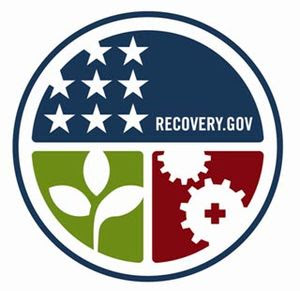 English: The emblem of the American Recovery a...