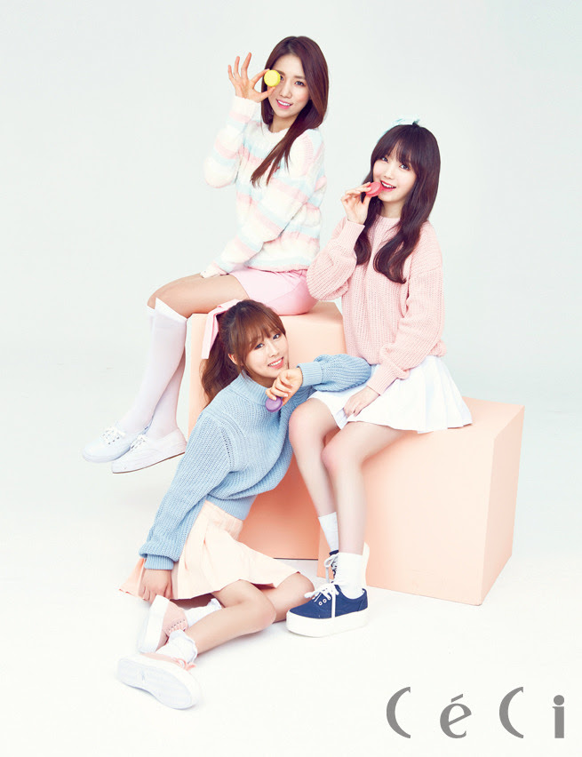 Lovelyz - Ceci Magazine February Issue '15