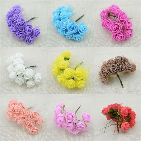 144pcs Cheap free shipping DIY mini roses artificial